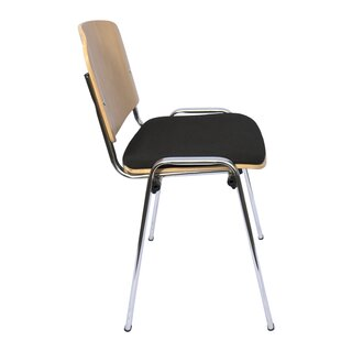 Cafeteria chair without armrests