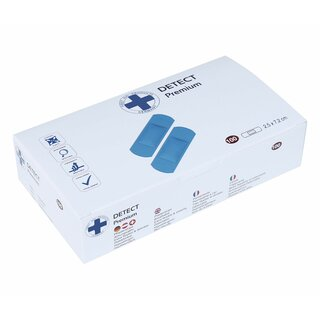 Pflasterstrips - Detect - 25 x 72 mm - VE 100 Stk.