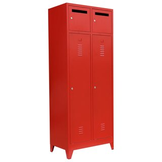 Fire department locker, 2 units